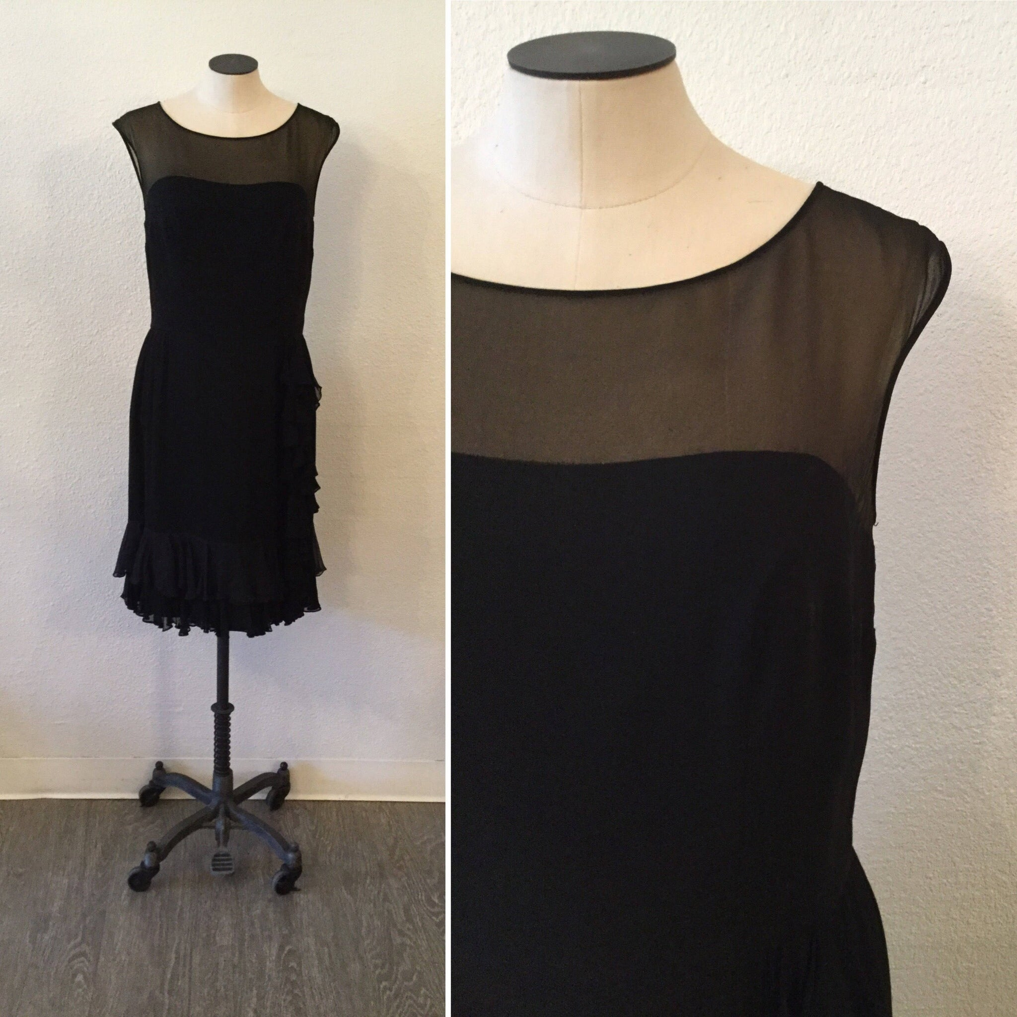 Chacha 1950s Ruffle Dress | Medium