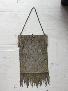 Marguerite Beaded Purse