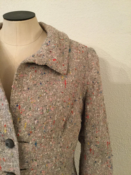 Halloway 1940s Tweed Jacket | Medium
