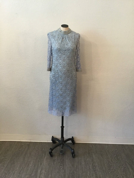 Vera 1960s Beaded Dress | Small