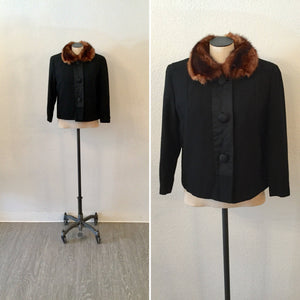 Rose 1950s Jacket | Medium