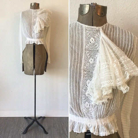 Rosamonde Victorian Lace Blouse | XSmall