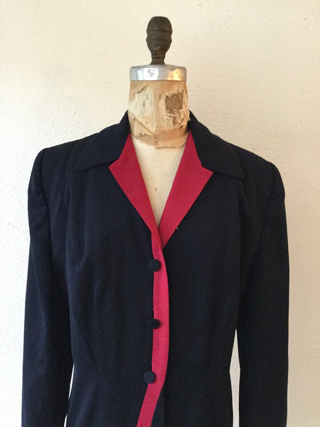 Danielle 1940s Riding Jacket | Large