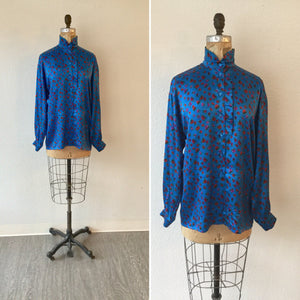 Escada 1990s Silk  Blouse | Large