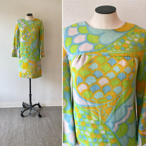 Chumley 1960s Wool Dress | Medium