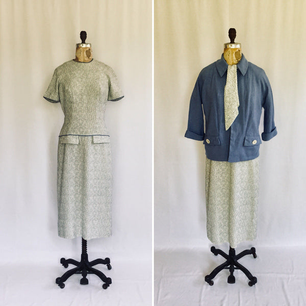 Fae 1950s Dress Suit | Medium