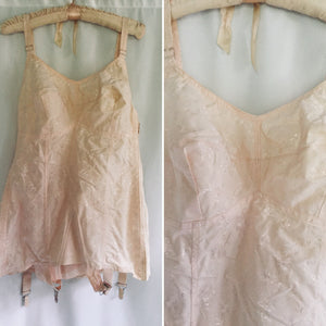 Carol Brent 1950s Pink Corset  | Size 44