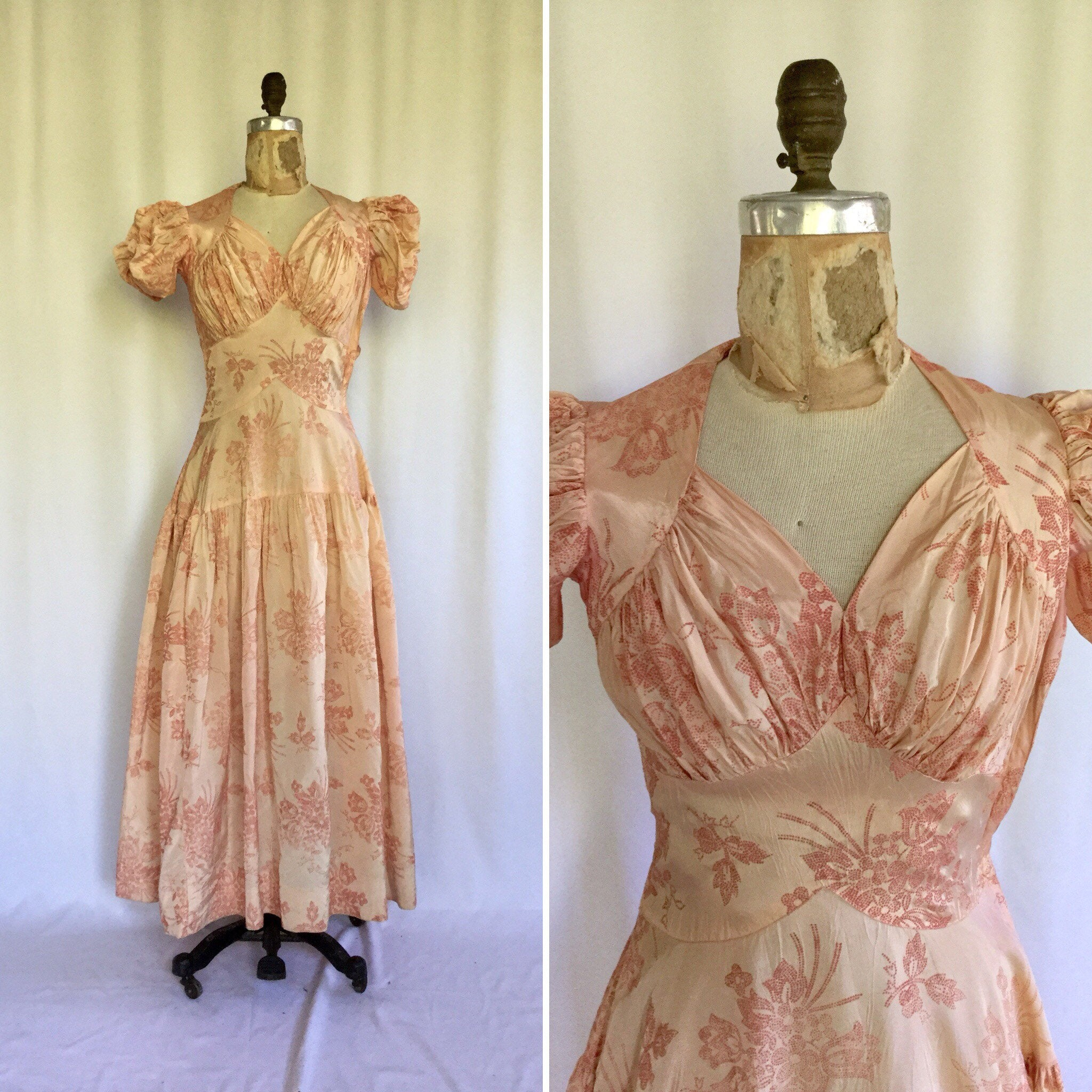 Emma 1930s Evening Dress | XSmall
