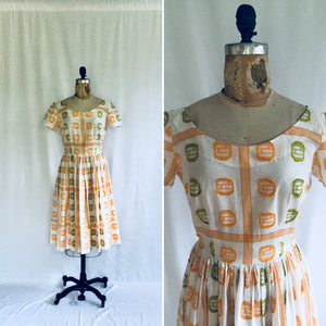 Clemintine 1950s Dress | Small