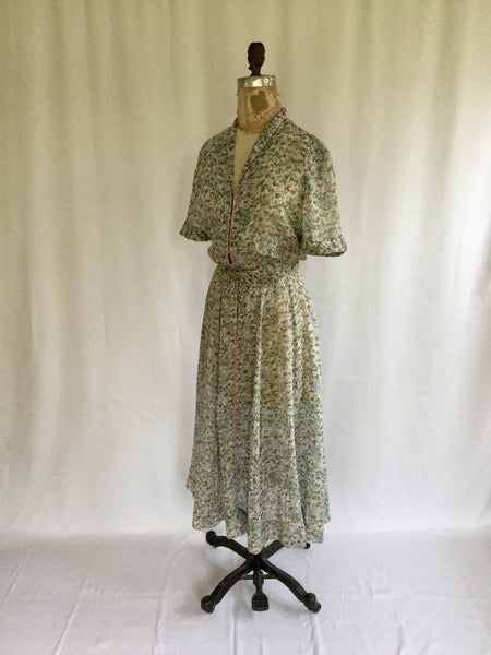 L'Aiglon 1950s Shirtwaist Dress | Medium