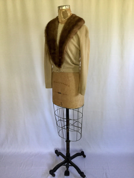 Sofie 1950s Cashmere Cardigan | Small