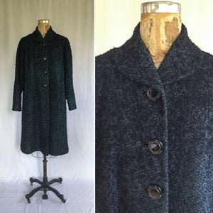 Louisa 1950s Boucle Coat | Medium/Large