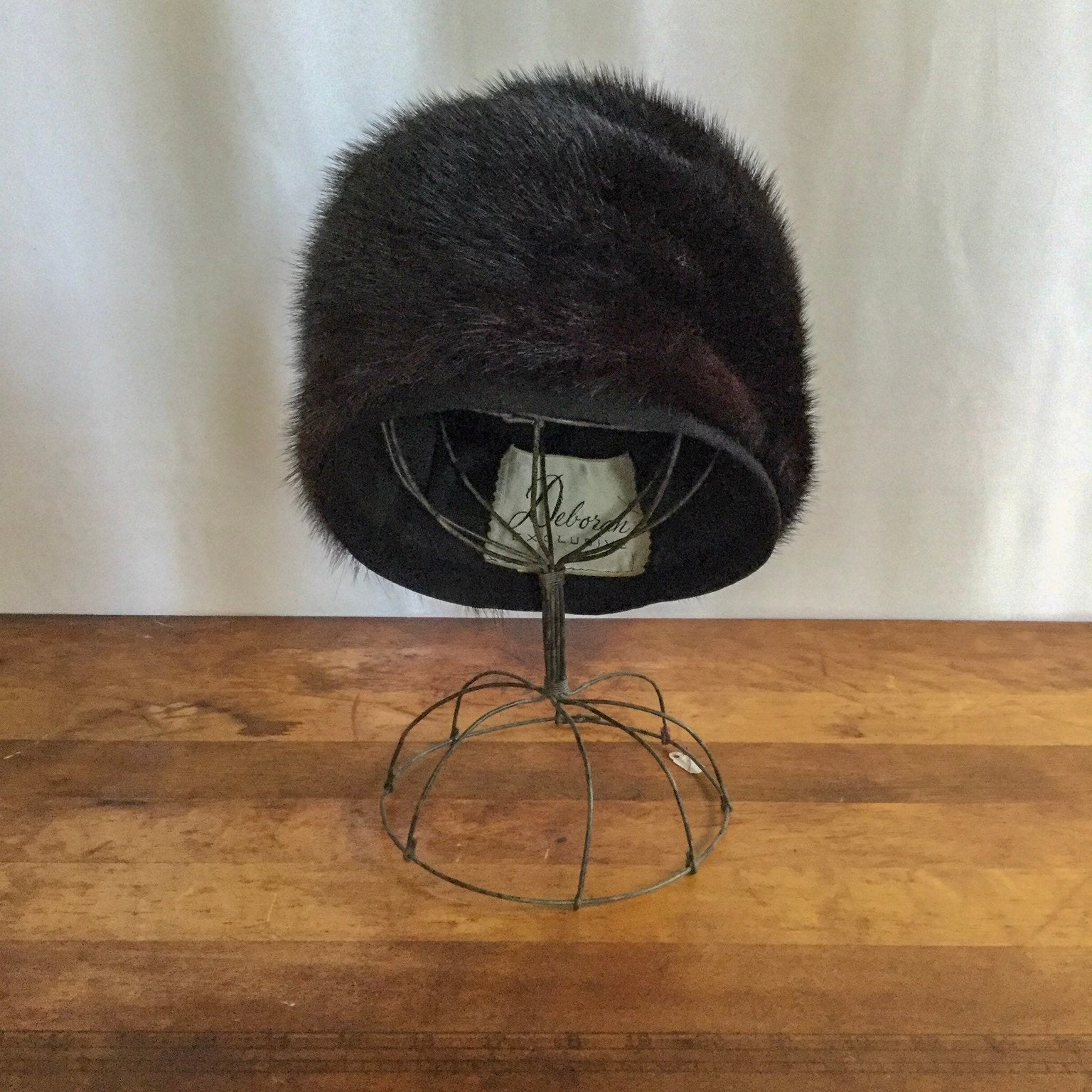 Deborah 1960s Fur Hat