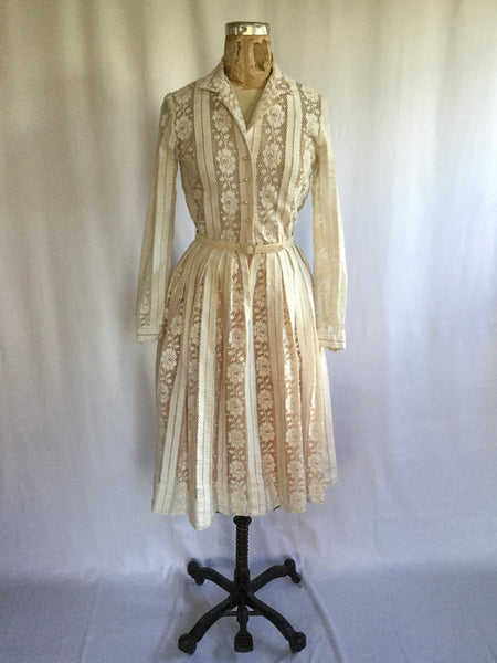 Mr Mort 1950s Shirtwaist Dress | Small | Sold