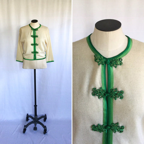 Beatrix 1950s Cashmere Cardigan | Small