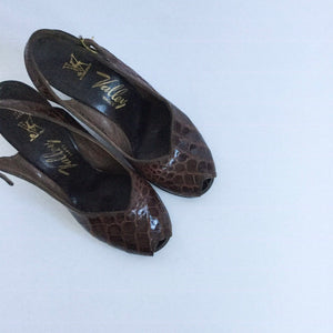 Valley 1940s Shoes | US 5.5