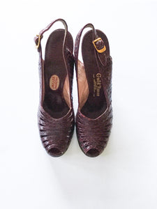 Guild House 1940s Platform Shoes | US 7.5