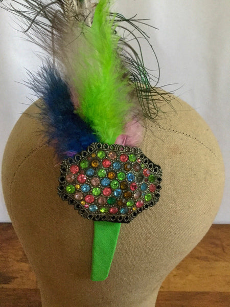 Camille Feather Headband