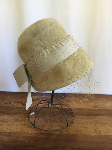 Musketeer 1960s Mohair Hat