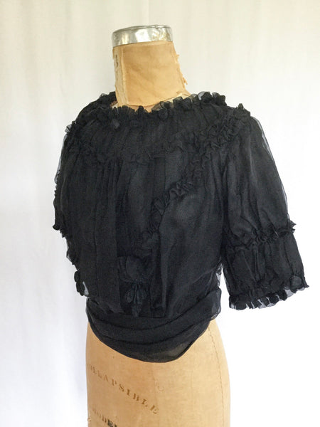 Flora Victorian Blouse | Small