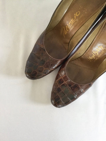 Palizzio 1950s Alligator Pumps | US 7.5