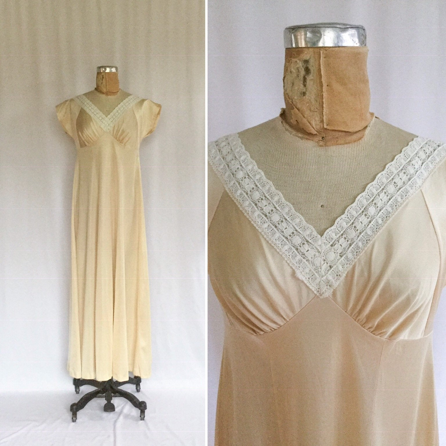 Le Voys 1960s Nightgown | Large