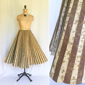 Dottie 1950s Circle Skirt | Small