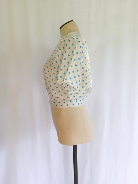 Dotty 1950s Blouse | Small