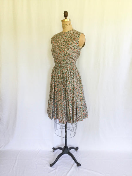 Atomic 1950s Dress | Small