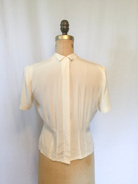 Terese 1940s Blouse | Medium