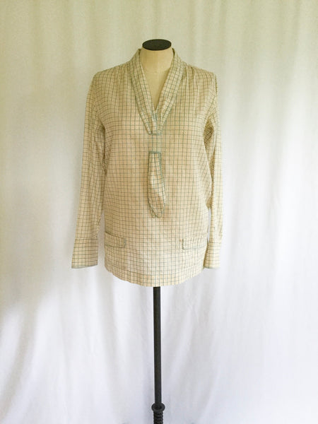 Eloise 1940s French School Girl Uniform Shirt | Small