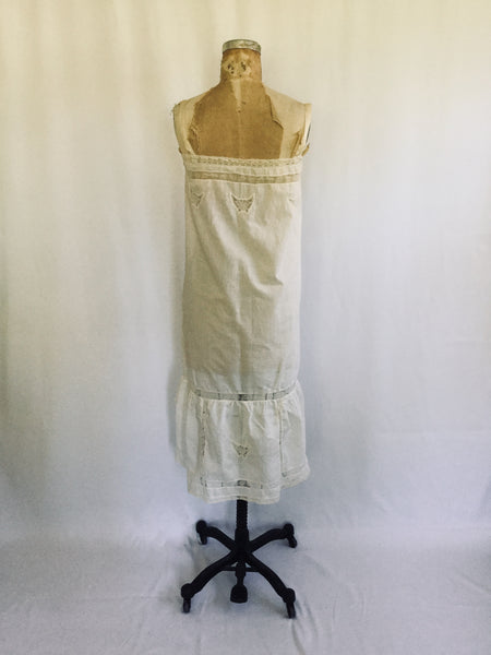 Papillon 1920s Cotton Slip | Small