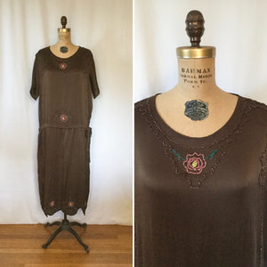 Rosetta 1920s Beaded Dress | Medium