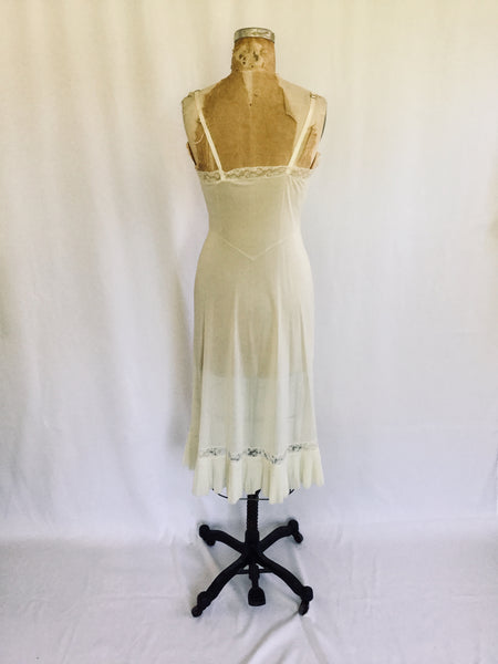 Vanity Fair 1950s Slip | Small/Medium