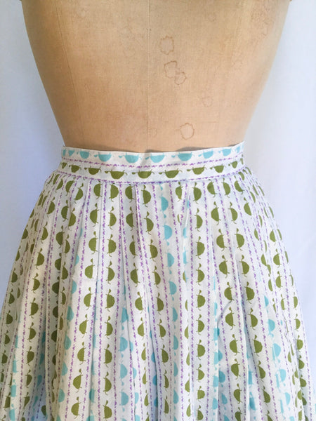 Tortuga 1950s Pleated Skirt | Small