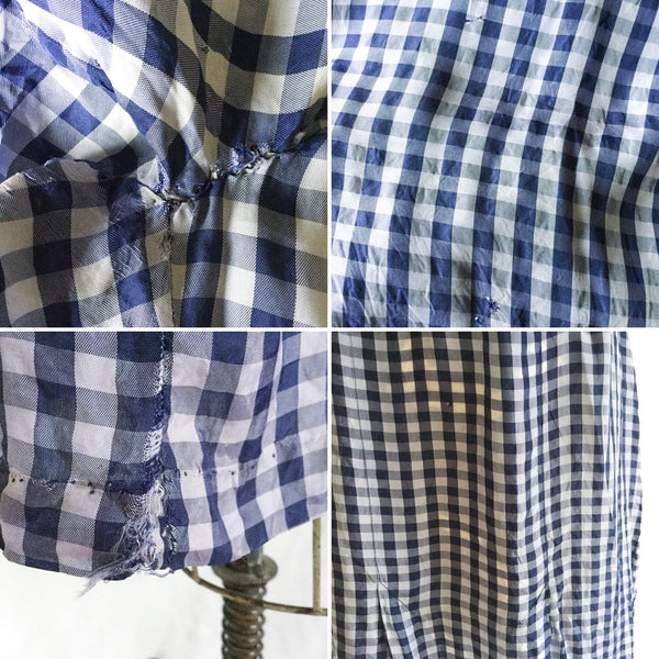 Bonnie 1930s Gingham Dress | Small