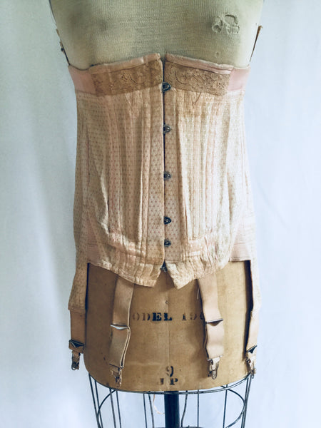 Franny Antique 1918s Francette Corset | Marked 32