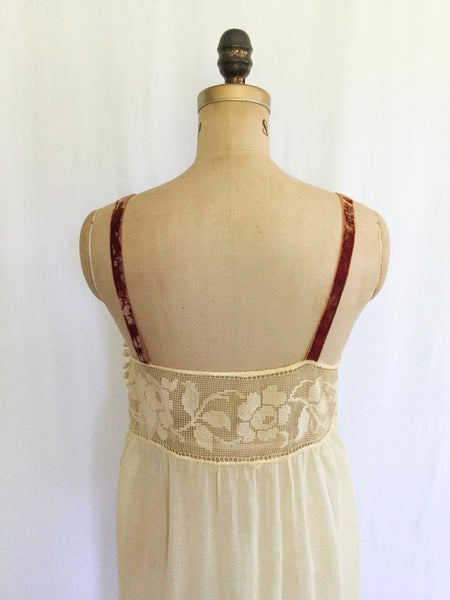 Miesha Edwardian Chemise | Medium