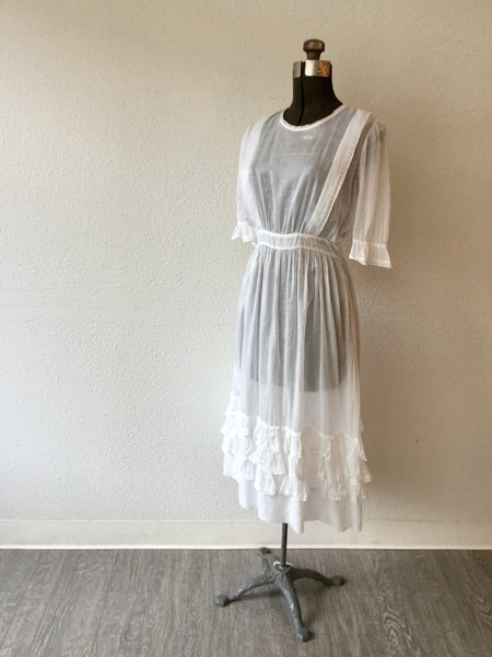 Mansfield Edwardian Lawn Dress | Small