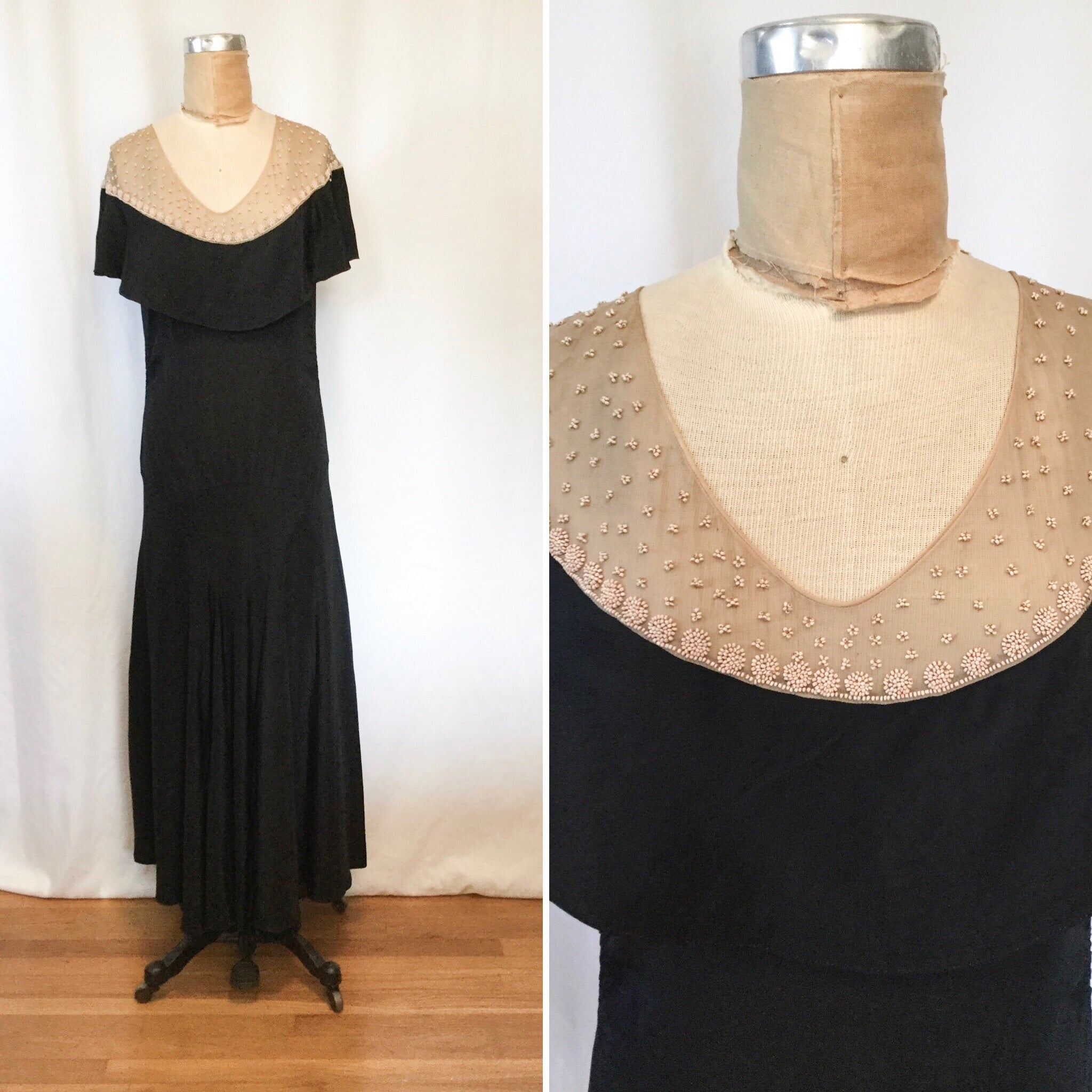 Cassandra 1930s Evening Dress | Small