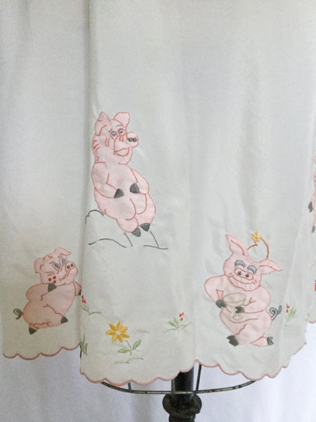 This Little Piggy 1960s Half Slip | Small