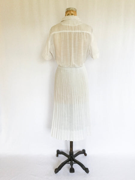 Blanca 1950s Shirtwaist Dress | Medium