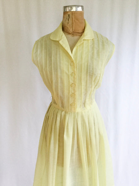 McKettrick 1950s Shirtwaist Dress | Medium