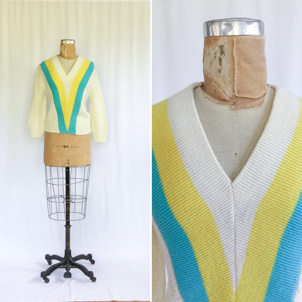 Rafa 1950s Wool Sweater | Medium