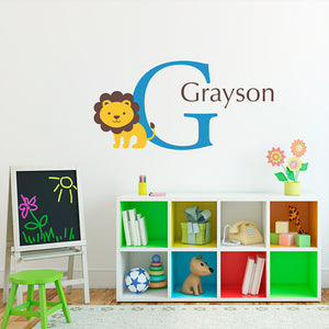 Personalized Kids Wall Decals by Stephen Edward Graphics