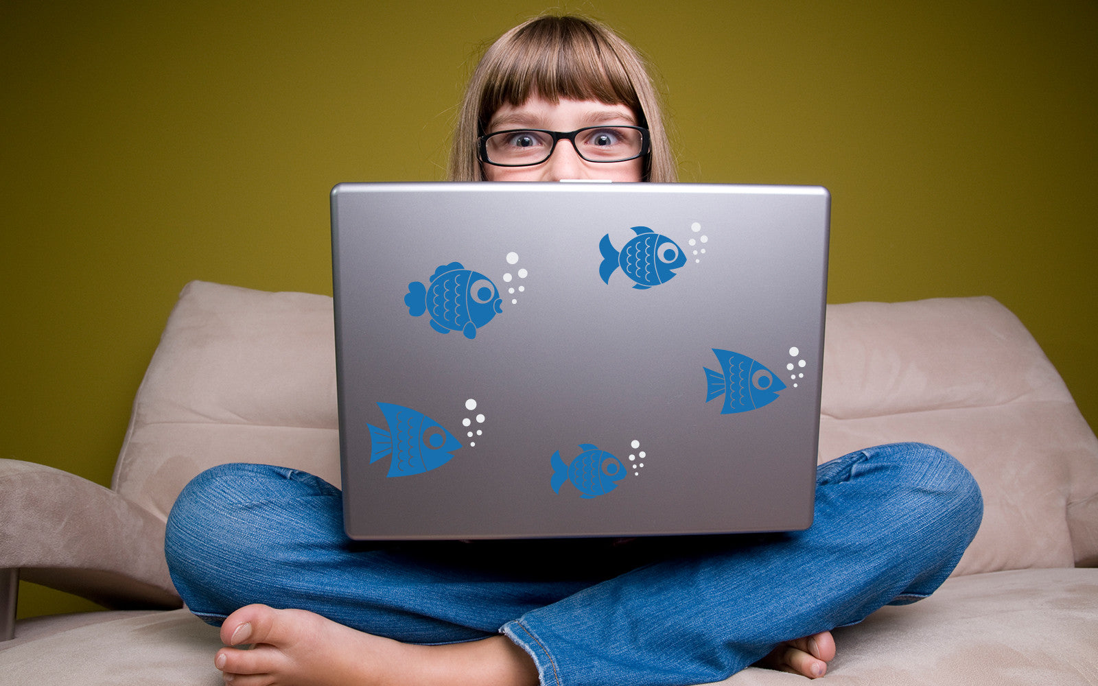 Laptop Decal by Stephen Edward Graphics