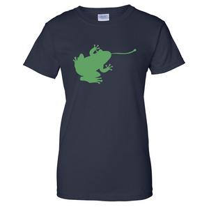 Frog Ladies T Shirt