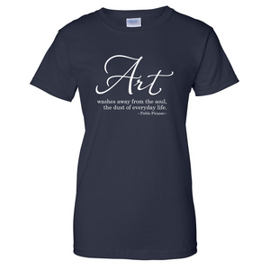 Art Washes Away Ladies T Shirt