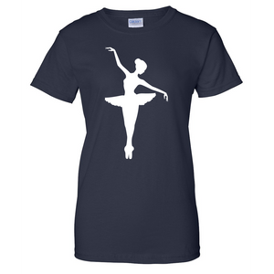 Ballerina Ladies T Shirt