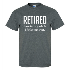 Retired Mens/Unisex T Shirt